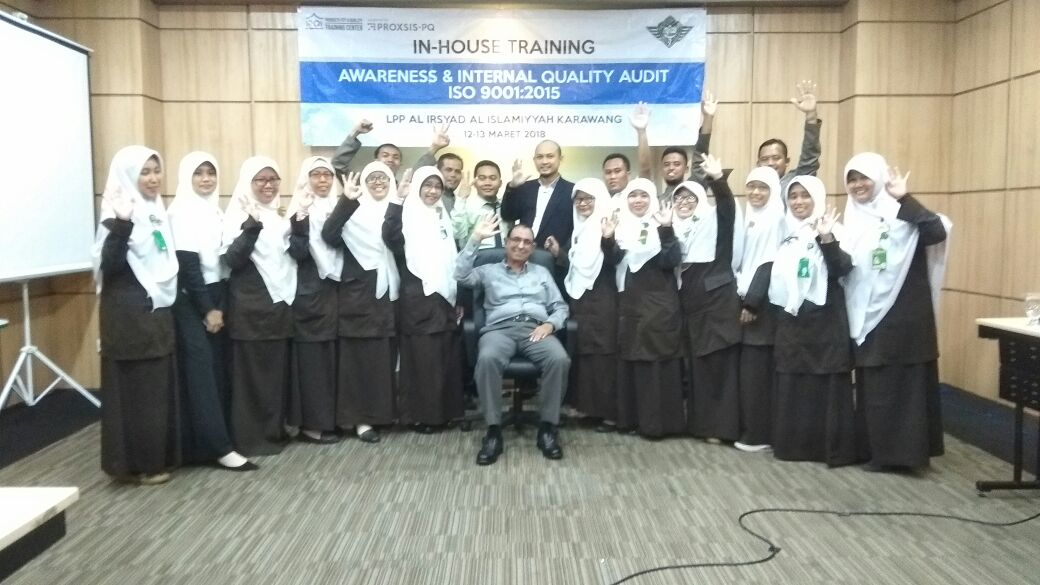 Training Awareness ISO 9001:2015 & Internal Quality Audit (IQA)