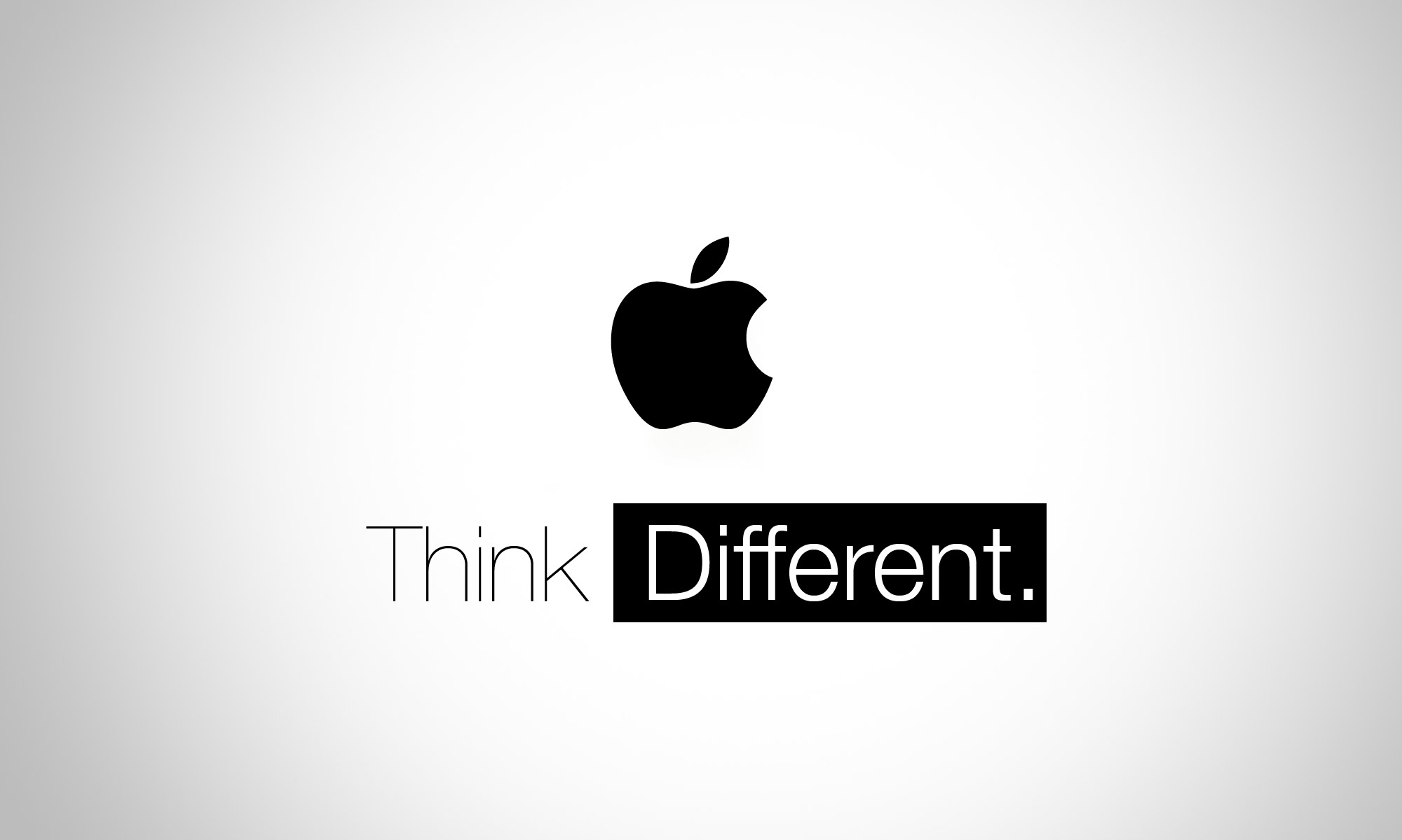 Learn from Apple – Think Different!